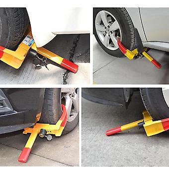 Anti Theft Steel Wheel Clamps Safety Lock For Van Motorcycle Car Trailer