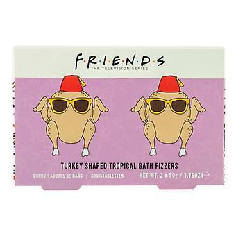 Friends Turkey Bath Fizzers Officially Licensed Friends Bath Bombs Cosmetics