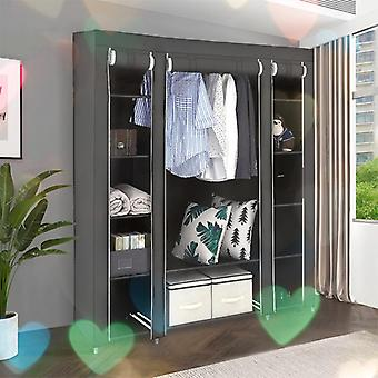 Non-woven Cloth Wardrobe Fabric Portable Folding Portable Closet