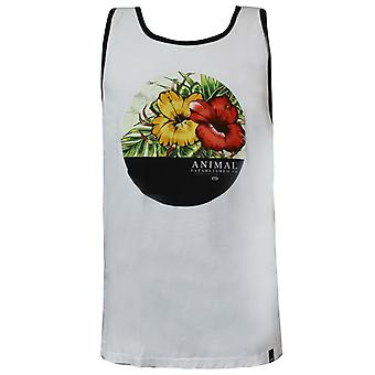 Dier Mens Yonder Vest Mouwloos T-shirt Casual Zomervest Wit CL5SG06