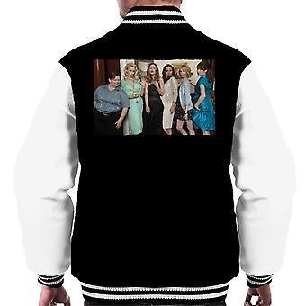 Brudtärnor Cast Foto Män's Varsity Jacket