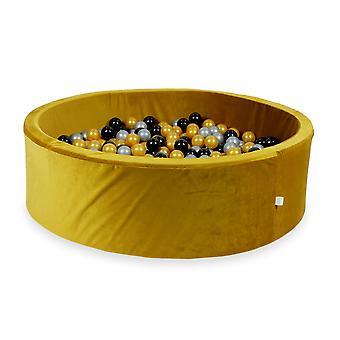 XXL Ball Pit Pool - Velvet Gold #23 + taška (200-700 loptičiek)