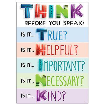 Piense antes de hablar Inspire U Cartel