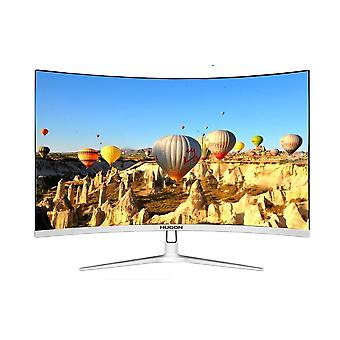 Gebogener Monitor Pc, Mva/spva, Computer-Display-Bildschirm, Full-hd-Eingang Vga