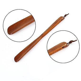 Ammattimainen puinen joustava pitkäkahvainen shoehorn