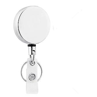 Key Ring Design, Retractable Pull Reel- Id Lanyard Badge Holder