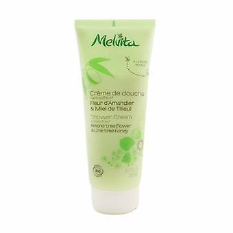 Melvita Almond Tree Flor & Lime Tree Honey Shower Cream 200ml/6.7oz