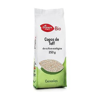 Økologisk hele hvede Teff Flager 250 g