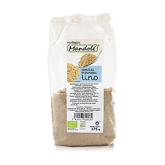 Organic Crushed Golden Flax Seeds 175 g of powder