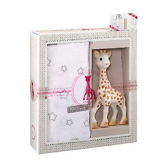 My first set Sophie la girafe + muslin 1 unit