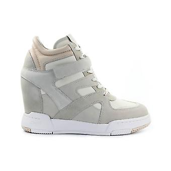 ASH BODY CREAM SNEAKER WITH WEDGE - Taglie Ash Donna: 7 UK