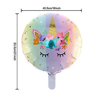 Unicorn balloon set