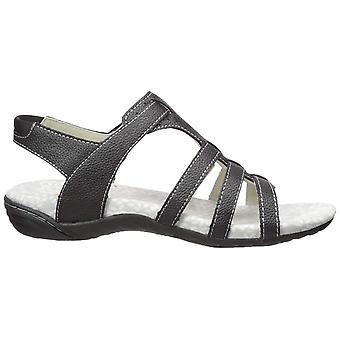 Jambu Women's Shoes Mia Leather Open Toe Casual Slingback Sandals