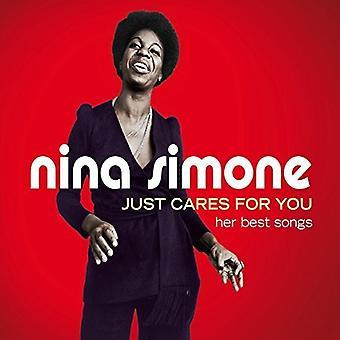 Nina Simone - bara bryr sig om You-Her bästa låtar [CD] USA import