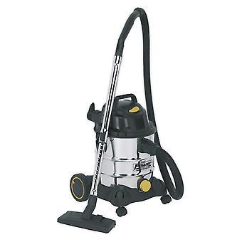 Sealey Pc200Sd110V Vacuum Cleaner Industrial Wet & Dry 20Ltr 1250W/110V