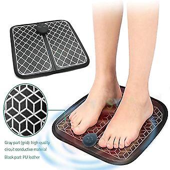 Ładowalna elektryczna ems masażer stóp bezprzewodowe stopy stymulator mięśni ABS Fizjoterapia Rewitalizująca Pedicure Tens Foot Vibrate Massage Mat