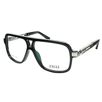 ZILLI Brillen Rahmen Titan Acetat Silber Frankreich Gemacht ZI 60019 C02