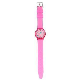 Depesche 6945 - Girl Wristwatch with Sparkling Silicone Strap, Ylvi and The Minimoomis Design, Resistant Ref. 4010070567613
