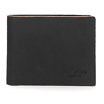 Pepe Jeans Scraped Blue Wallet 12.5x9.5x1 cms Leather