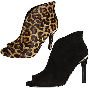 Steven By Steve Madden Womens Dahlya Slip On Pump Bootie Shoes