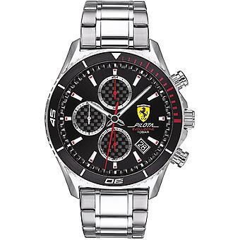Scuderia Ferrari SF830772 PILOTA EVO Heren Horloge