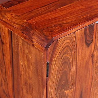 vidaXL Dressoir massief hout 75 x 35 x 60 cm