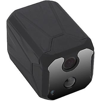 كاميرات تجسس مصغرة HD 1080P، كاميرا واي فاي خفية صغيرة، مع الكشف عن الحركة والرؤية الليلية، كاميرا مراقبة أمن المنزل للمنزل في الهواء الطلق (أسود)