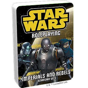 Star Wars Gioco di ruolo Imperiali e Ribelli III Adversary Deck