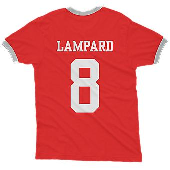 Frank lampard 8 england country ringer t-shirt