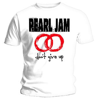 Pearl Jam - Don't Give Up Unisex Large T-Shirt - Blanc