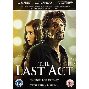 DVD-skivan med sista akten