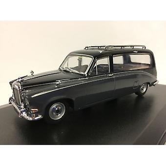 Daimler DS420 Hearse Black Carton Grey 1:43 Scale Oxford DS008