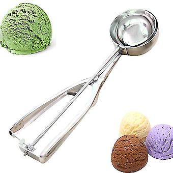 Premium Stainless Steel Ice Cream Scoop ,  Duty Metal Icecream Scoop Spoon , Perfect For Frozen