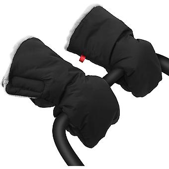Extra dicke Kinderwagen-Handmuff, Kinderwagen-Handschuhe, wasserdicht, Frostschutz-Kutsche, warme
