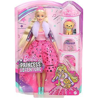 Barbie GML76 Eventyr Deluxe Prinsesse Dukke