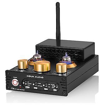Hifi Ge5654 Tyhjiöputkivahvistin Stereo Bluetooth 5.0 Vastaanotin vahvistin Mm Phono