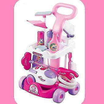 Simulovaný čisticí nástroj Carriage -small domácí spotřebiče pro předstíranou hru