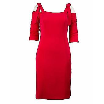 Off-Shoulder Bodycon Kleid mit Bogen-Jumper-Riemen