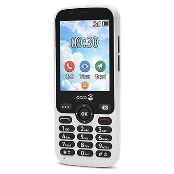 Téléphone portable pour personnes âgées Doro 7010 2,8» Blanc