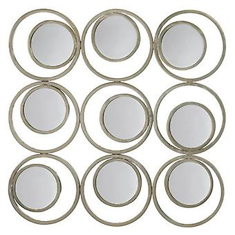 Accent Plus Modern Circles Wall Mirror Decor, Pack of 1