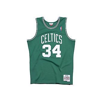 Mitchell &Ness Canotta Basketball NBA Boston Celtic Pierce 2007/2008 Swingman Jersey Green