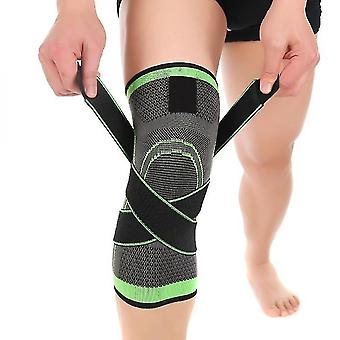 Supports braces knee support brace strap compression sleeve sports protector adjustable xxl