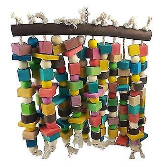 Bird toys wooden bird toys large bird chewing toy parrot birds toys accessories grey macaws|bird toys