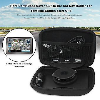Capa de capa de carro 4.3'' No carro sat nav holder para Tomtom Garmin iniciar GPS