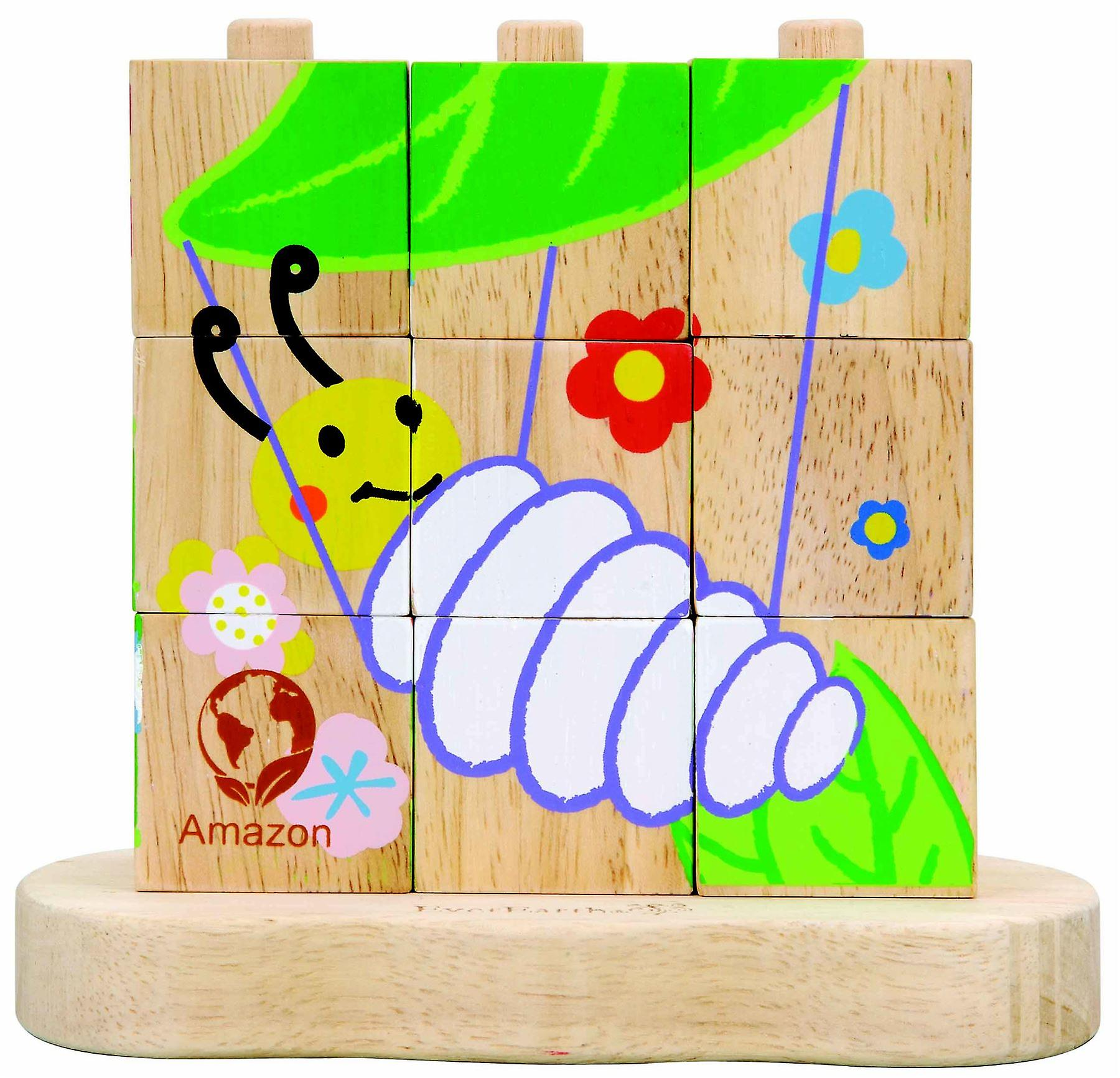 EverEarthEco Amazon Stacking Puzzle 2y+