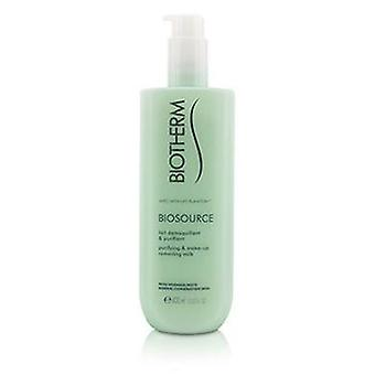 Biotherm Biosource Purifying & Make-up Entfernen Milch - Für normal/Kombination Haut - 400ml/13.52oz