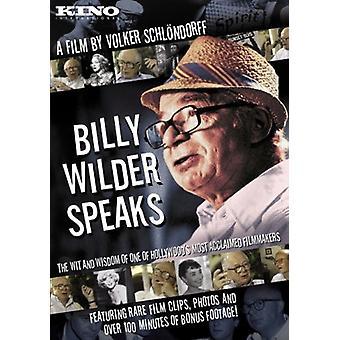 Billy Wilder talar [DVD] USA import
