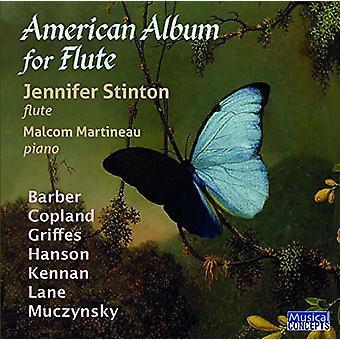 Jennifer Stinton (Flute0 Malcolm Martin - Album américain pour l'importation des USA de la flûte [CD]