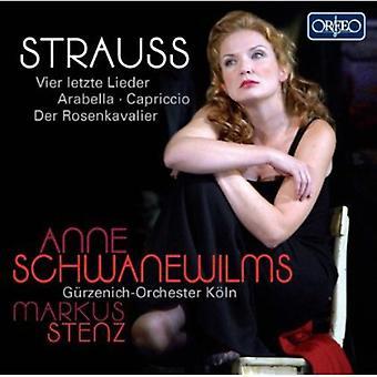 J. Strauss - Strauss: Vier Letzte Lieder; Arabella; Capriccio; Der Rosenkavalier [CD] USA import