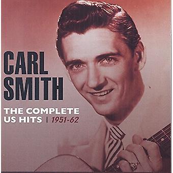 Carl Smith - Smith Carl vervollständigen uns Hits1951-62 [CD] USA import